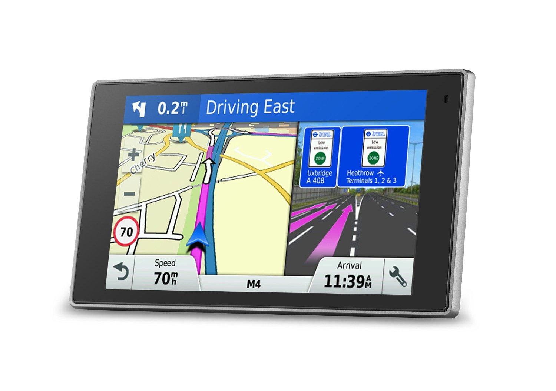 Garmin DriveLuxe 50LMT-D Premium Smart GPS Sat Nav Free UK Maps - 010-01531-10 753759155599 | eBay