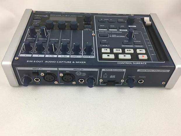 Внешняя звуковая карта Roland V-STUDIO 100   Купить с доставкой по Москве и другим городам России   United Store, ☎ +7 (499) 647-40-60
