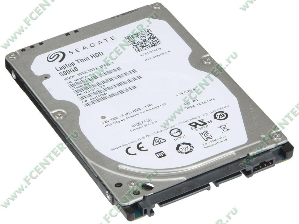 """Жесткий диск 2.5"""" SATA 500Gb Seagate Laptop Thin HDD (ST500LM021) - 3D-обзор от ugra.ru - YouTube"""
