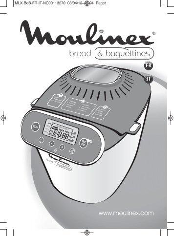 Хлебопечка Moulinex OW3501 Bread & Baguettines цены, отзывы, характеристики, фото и видео
