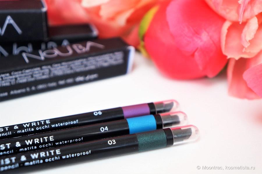 Купить Nouba Автоматический водостойкий карандаш для глаз Twist & Write, оттенок 01 по низкой цене с доставкой из маркетплейса Беру