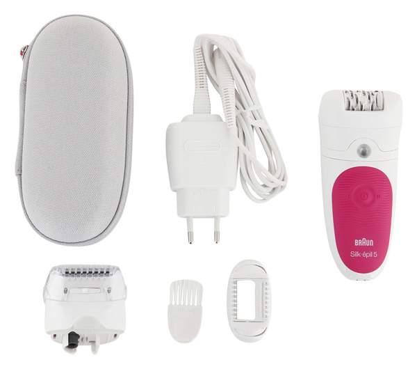 Купить Эпилятор BRAUN 5-547 белый в интернет-магазине СИТИЛИНК, цена на Эпилятор BRAUN 5-547 белый (403753)