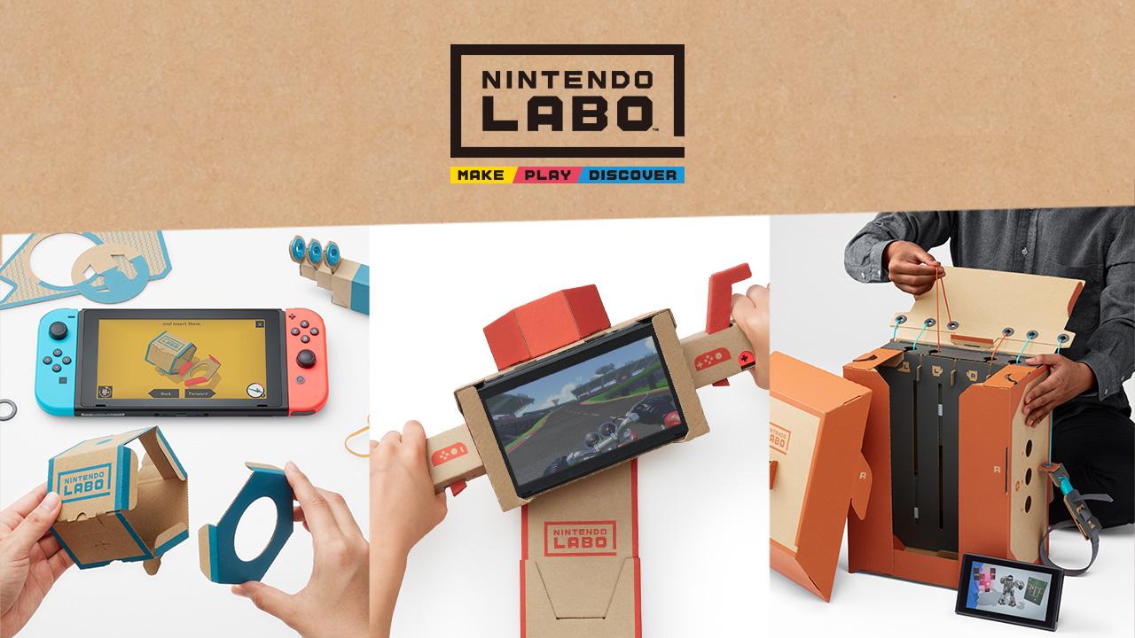 Nintendo Labo - Robot Kit - ugra.ru