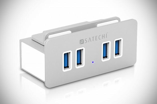 USB-концентратор USB 3.0 7 Ports обзор - YouTube
