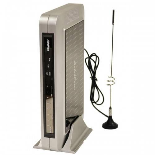 AP-GS1002B - VoIP-GSM шлюз, 2 GSM канала, SIP & H.323, CallBack, SMS. Порты 2хFXS, Ethernet 2x10/100