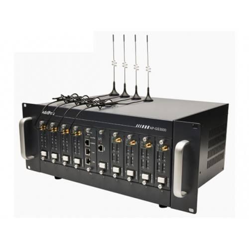 Add Pac AP-GS1500, базовое шасси с портами 2x10/100Mbps Ethernet (SIP, H.323), 2 слота, макс 8 GSM купить в Омске - цена, описание, характеристики | Цифровые GSM шлюзы AddPac | Компания ''Новый телефон''