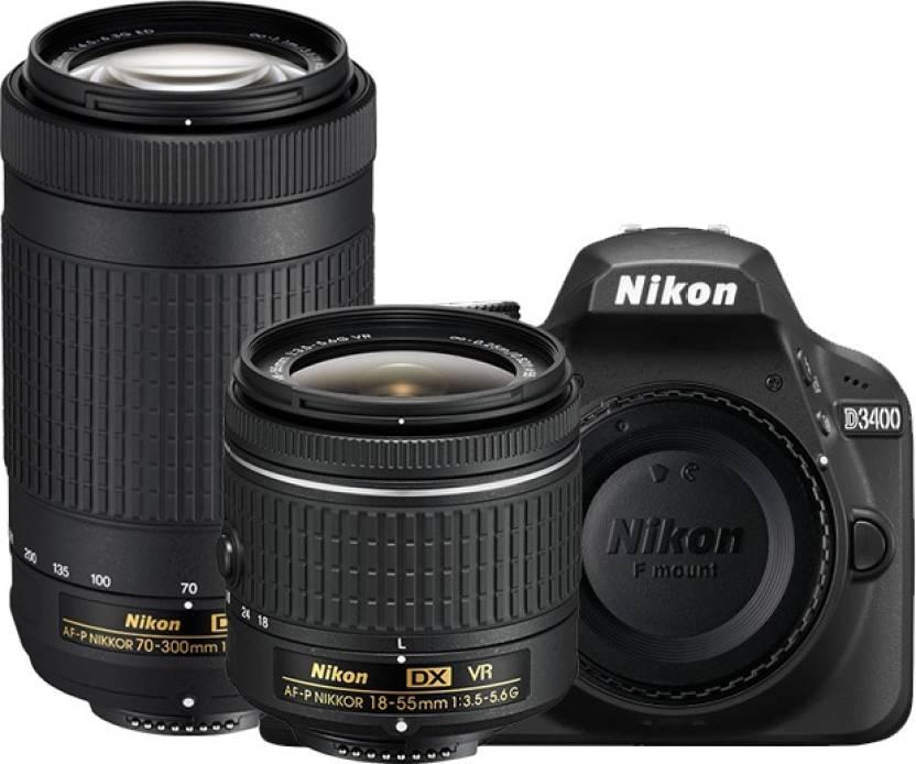 Nikon D3400 24MP Digital SLR Camera Body Only - Black - ugra.ru