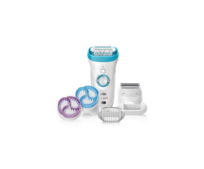 Эпилятор Braun Silk-epil 9 SkinSpa 9 - 961e купить в официальном магазине Braun