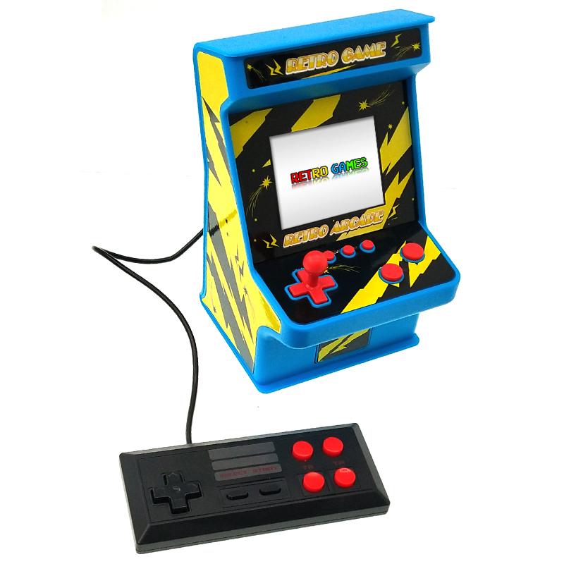 Игровая консоль Gamepad Retro FC Plus ретро игры 168 в 1, 8 Бит 2 игрока джойстик (Черный)