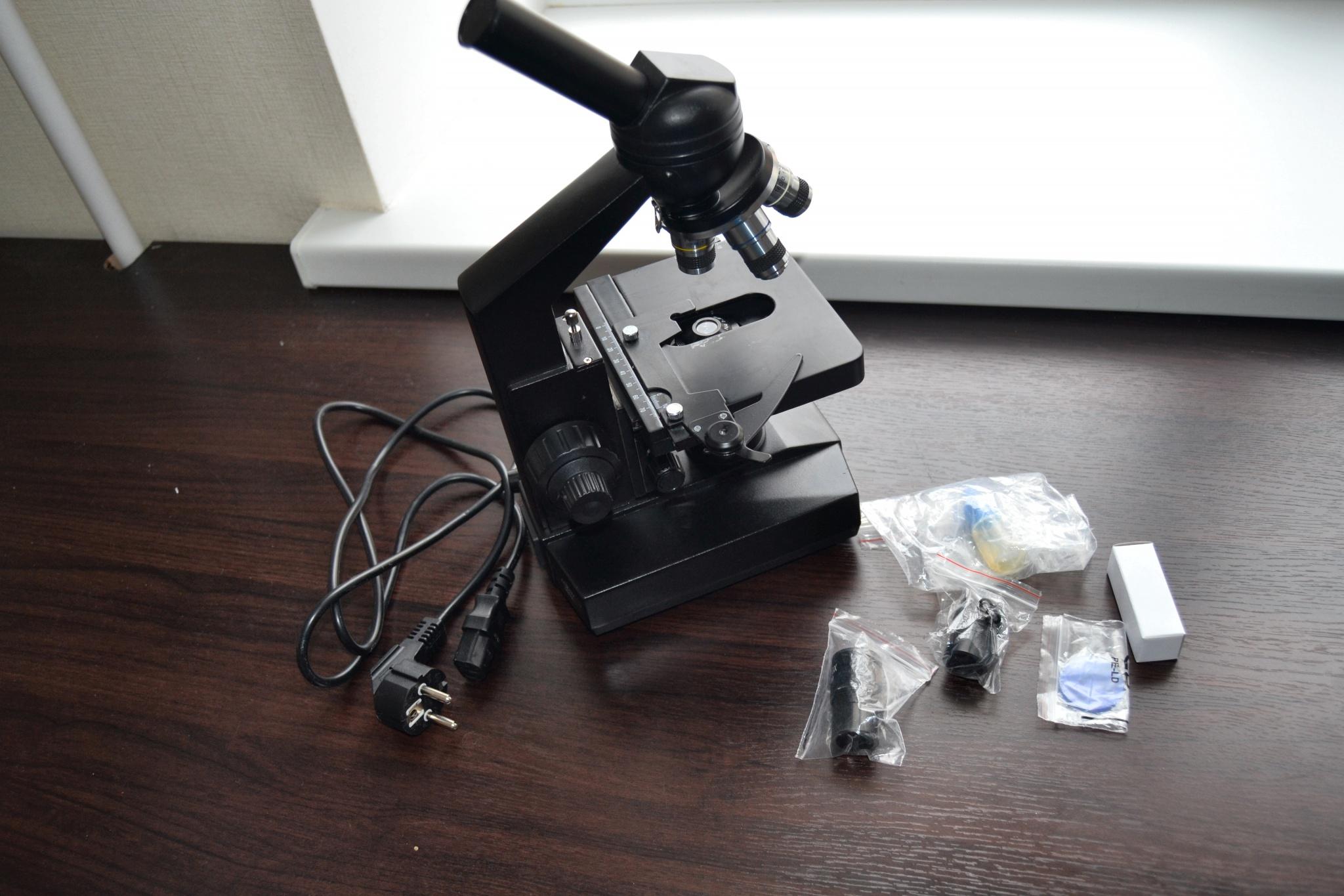 Обзор профессионального микроскопа Levenhuk 320 в домашних условиях
