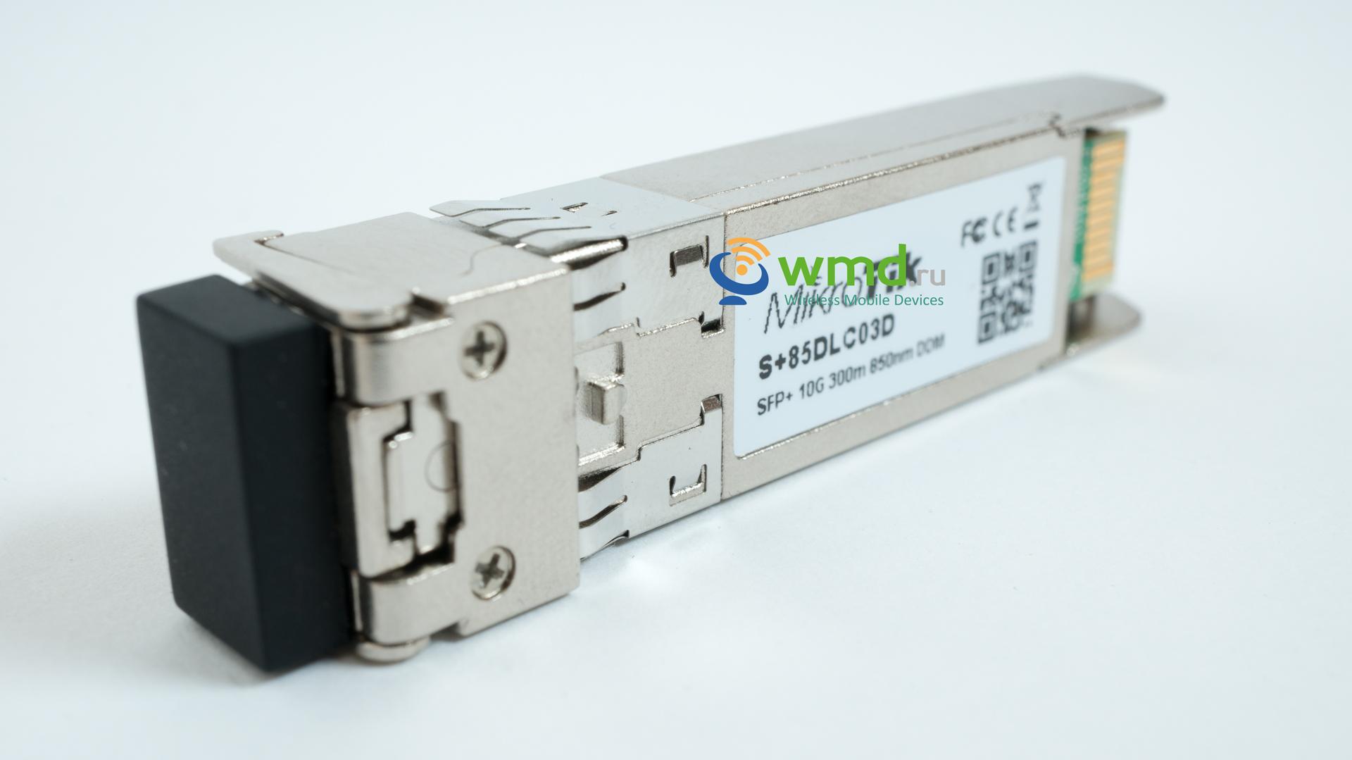 10G SR 300M Optical Transceiver module Compatible MikroTik S+85DLC03D SFP