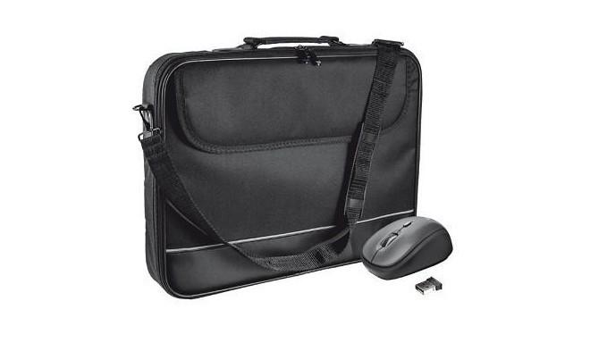 Trust Isotto Notebook Bag & Wireless Mouse 15-16 | Купить сумка для ноутбука trust isotto notebook bag & wireless mouse 15-16: самовывоз, доставка в интернет-магазине ugra.ru