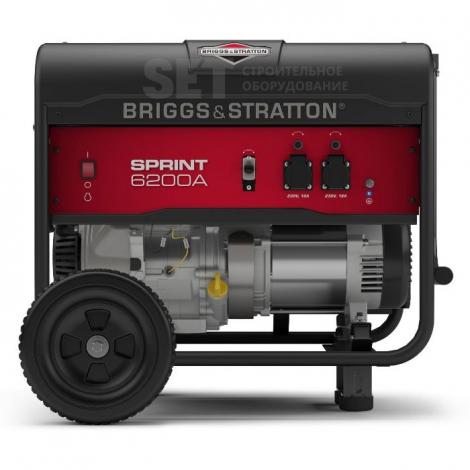 Бензиновый генератор Briggs & Stratton 3750 A – Энерго-Климат