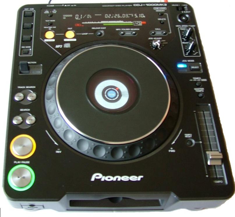 Аренда DJ CD-проигрывателя DJ Pioneer CDJ-1000 MK3 - Эстрада