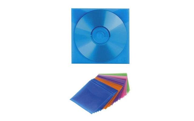 Конверты Hama (51068) для CD/DVD на 1 диск, 5 цветов, полипропиленовые, уп. 100 шт, цена 650 руб., купить в России — ugra.ru (ID#286003948)