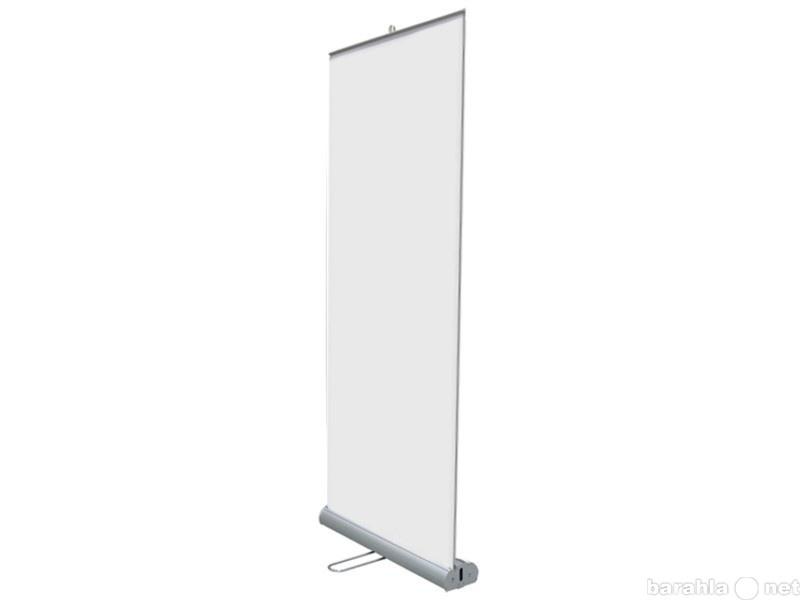 Roll up каплевидный двухсторонний формата 100х200 см – купить в Москве в интернет-магазине недорого