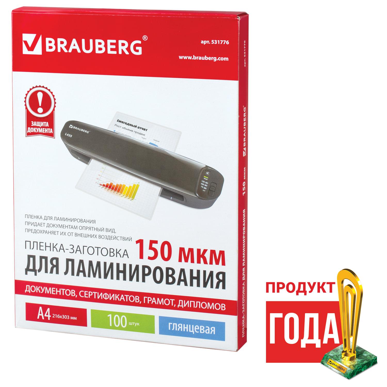 Купить Пленки-заготовки для ламинирования GBC комплект 100 шт., для формата А4, 100 мкм, 3740306 в Санкт-Петербурге с доставкой