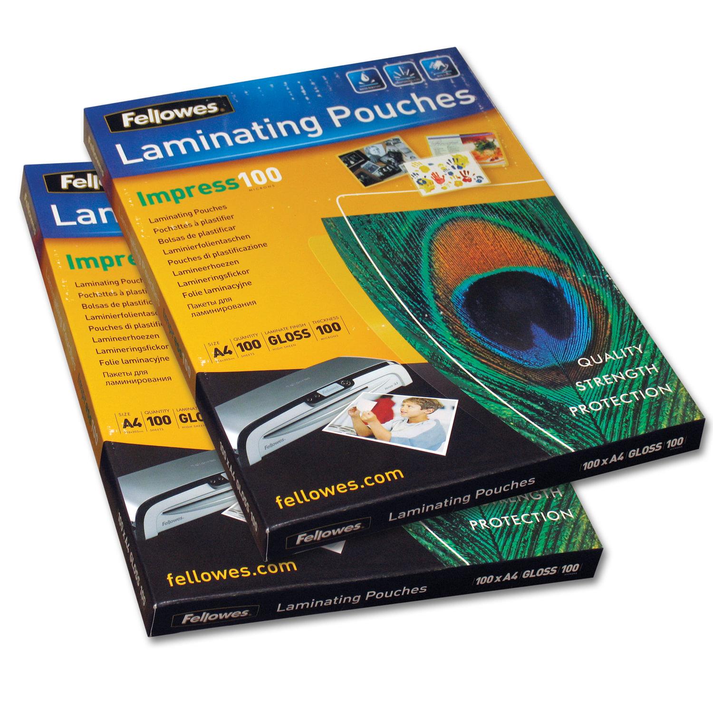 Пленки-заготовки для ламинирования FELLOWES, комплект 100 шт., 65х95 мм, 125 мкм - купить на cайте ОФИСМАГ. Недорого, доставка.