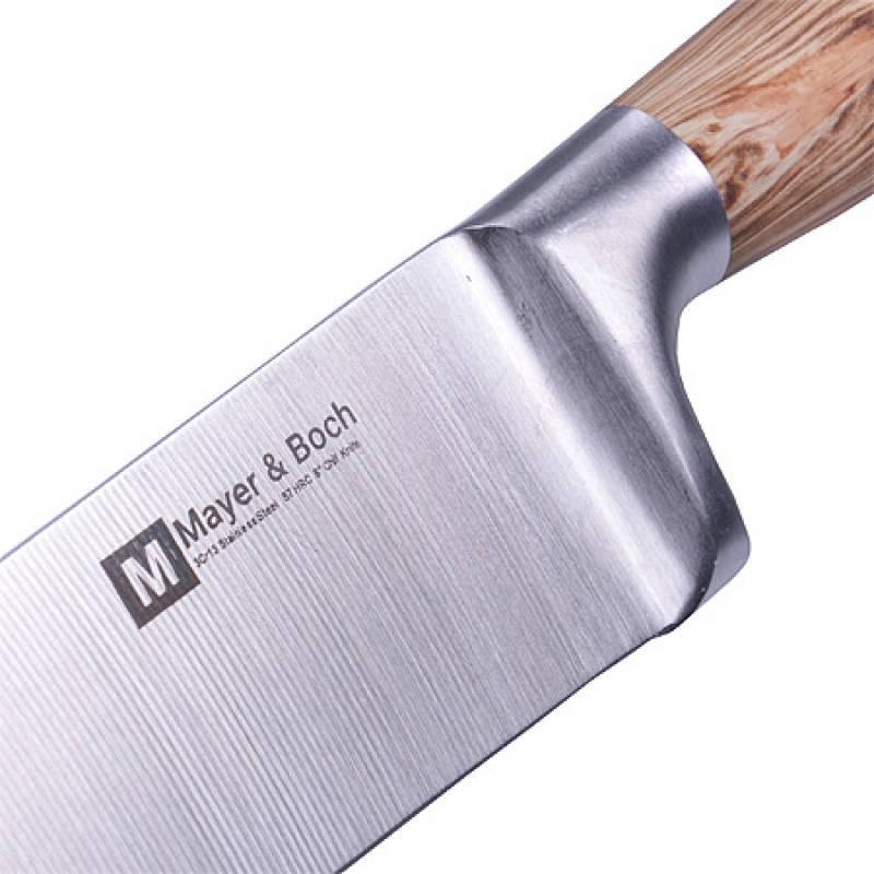 Купить оптом 28123 Нож кованый AMATI 35 см нержавейка MAYER&BOCH из Китая со склада в Москве